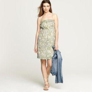 J.CREW Teaberry Floral Silk Candace Short Dress 4